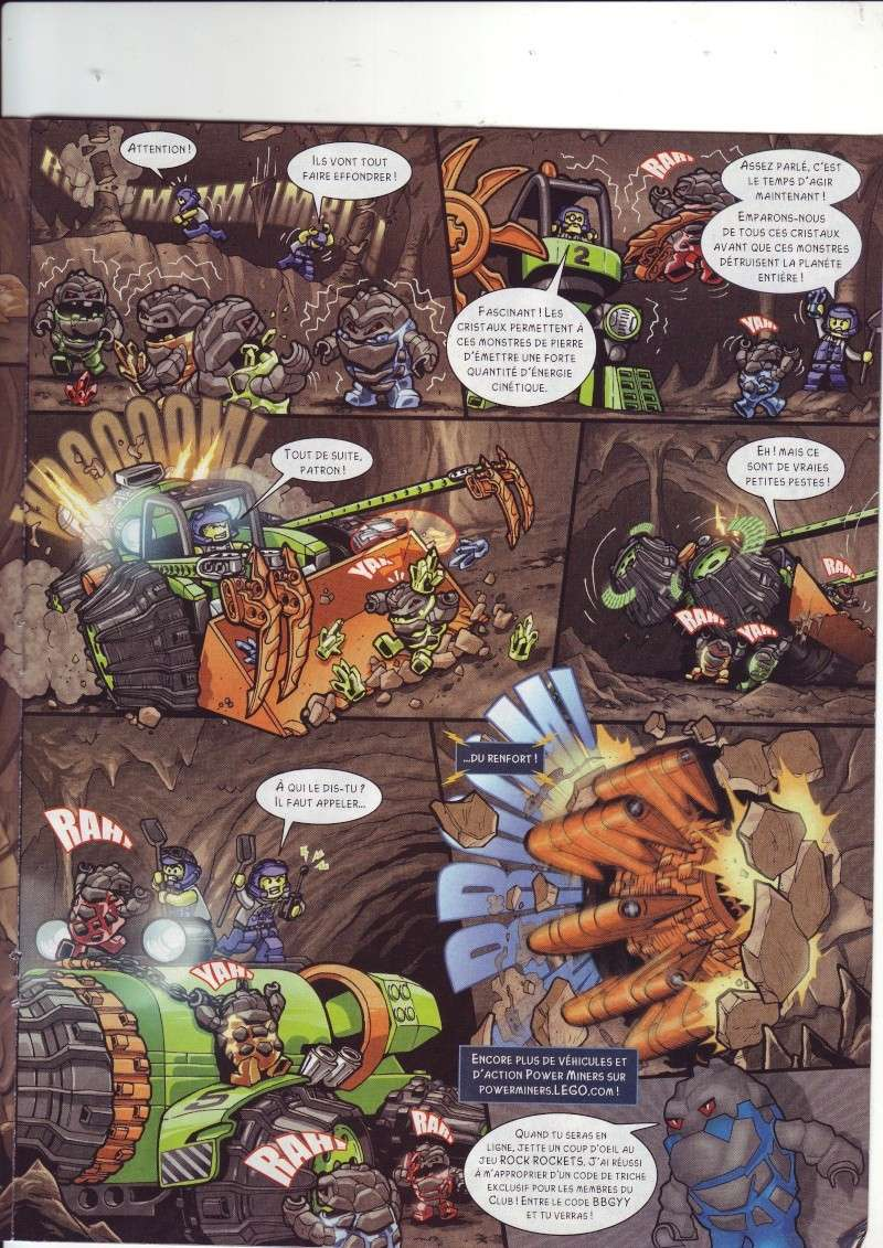 [Comics] VF de la 1ère BD 2009 «les sable de bara magna» et du LEGO Magazine Save0018