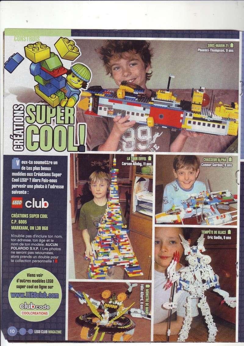 [Comics] VF de la 1ère BD 2009 «les sable de bara magna» et du LEGO Magazine Save0019