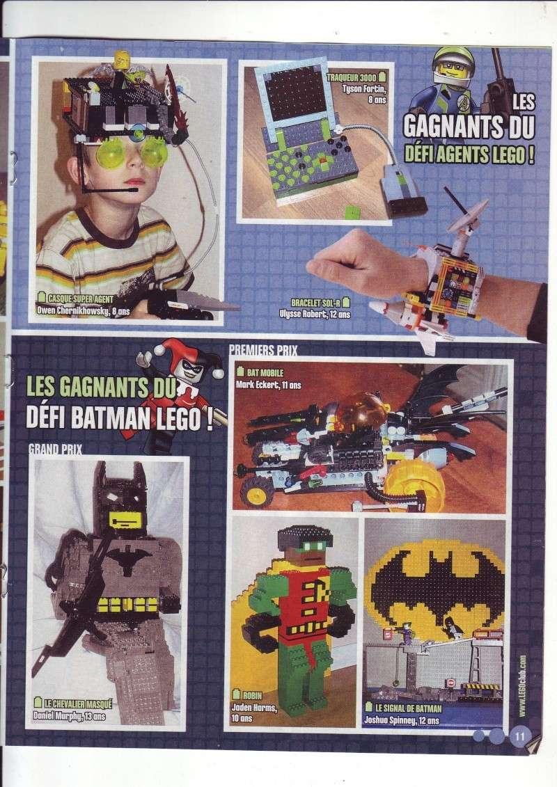 [Comics] VF de la 1ère BD 2009 «les sable de bara magna» et du LEGO Magazine Save0020