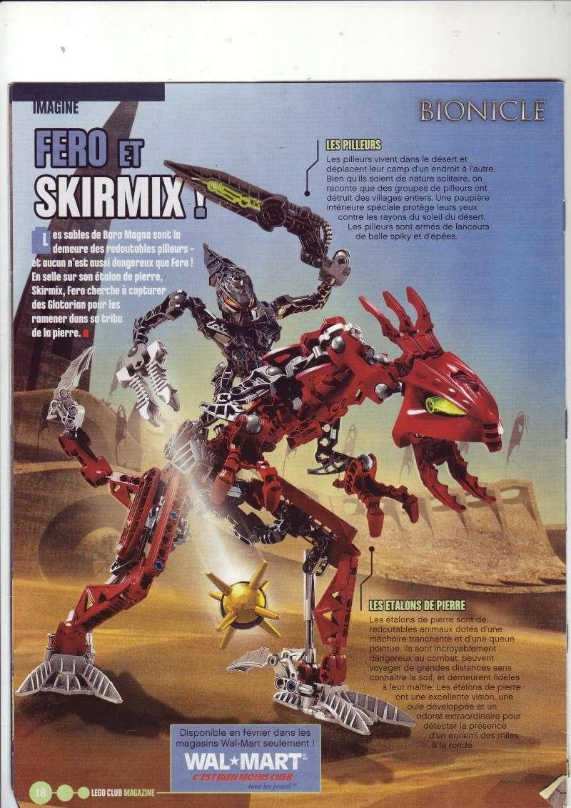 [Comics] VF de la 1ère BD 2009 «les sable de bara magna» et du LEGO Magazine Save0026