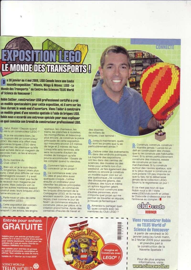 [Comics] VF de la 1ère BD 2009 «les sable de bara magna» et du LEGO Magazine Save0027
