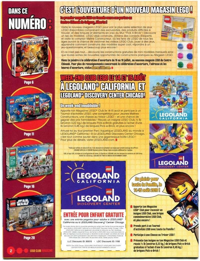 [Comics] LEGO Magazine juillet - aout 2010 Scan0011