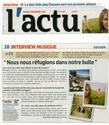 """Actualité de """"My friends all died in a plane crash"""". Actu10"""