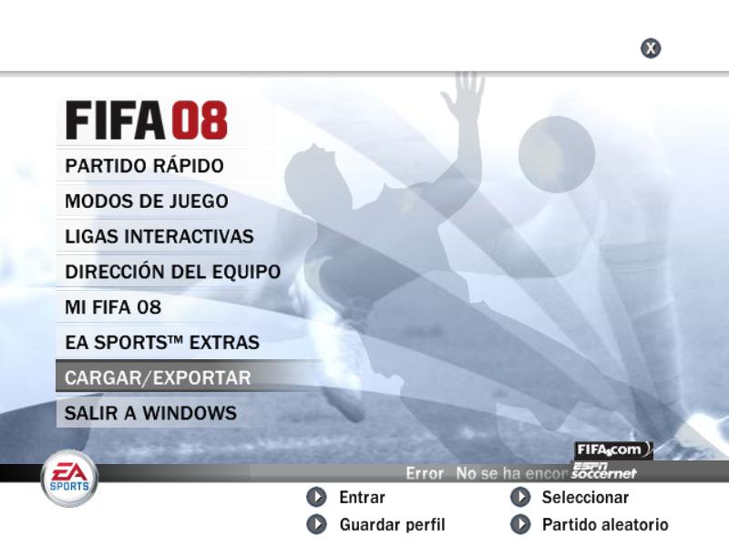Como Exportar una Repeticion de FIFA08 Captur10