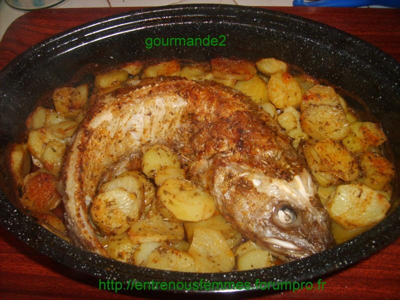 Merlan aux pommes de terre à la marocaine S5001422