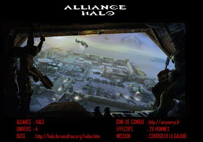 Alliance halo