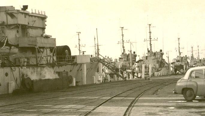 Oostende en 1963-1964 Logist10