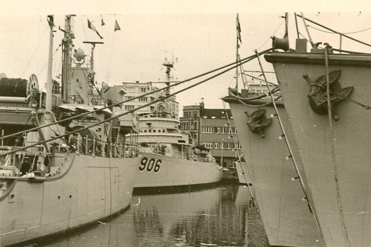 Oostende en 1963-1964 Logist11