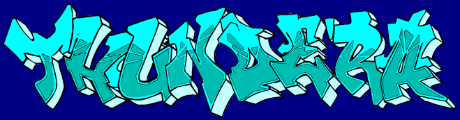 Graffiti art- took me 72 hours to make =P Thunde10