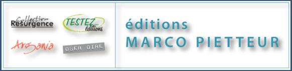 Editions Marco Pietteur