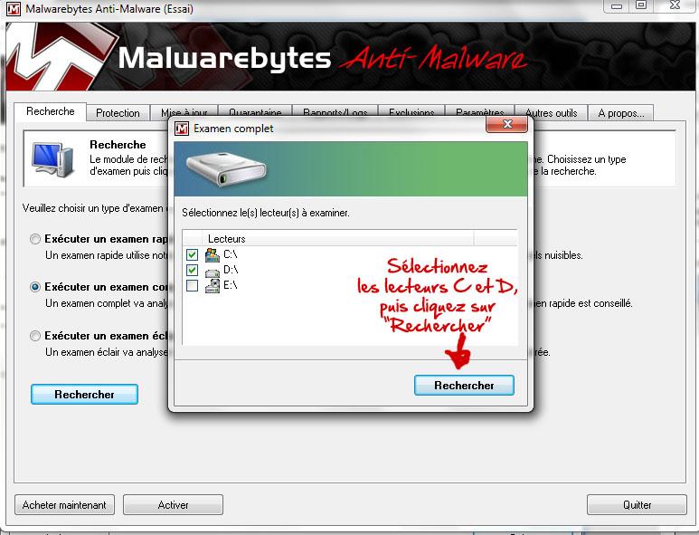 Se débarrasser de Security Live Premium (ou Platinum) Malwar12