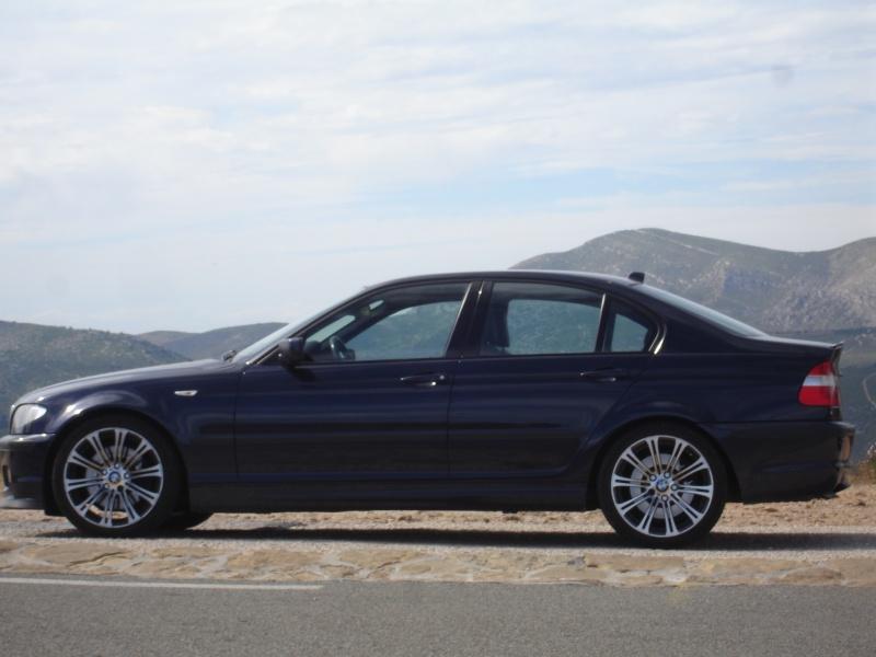 [BMW 330 da E46] Nouvelles roulettes Dsc04610