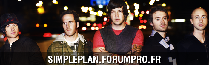 Simple Plan - Forum Officiel Français