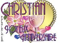 Joyeux anniversaire Christian Images13
