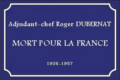 Adjudant-chef Roger DUBERNAT - 17e BCP Sans-t10