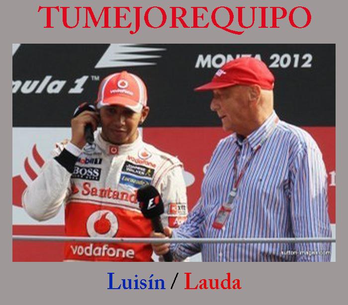 """Niki Lauda: """"Luisín es el mejor piloto del mundo"""" _lauda10"""