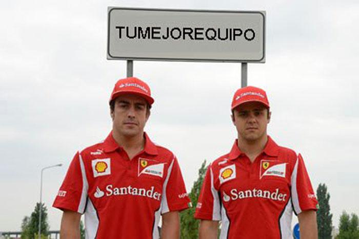 Fernando Alonso felíz por la renovación de Felipe Alo_1310