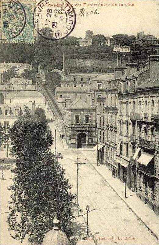 Photos historiques du réseau havrais (bus, tram, funi...) - Page 8 Funicu17