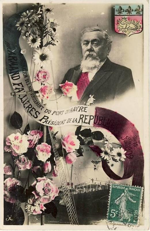 1909 - Visite du président Armand FALLIERES au Havre ... Presid10