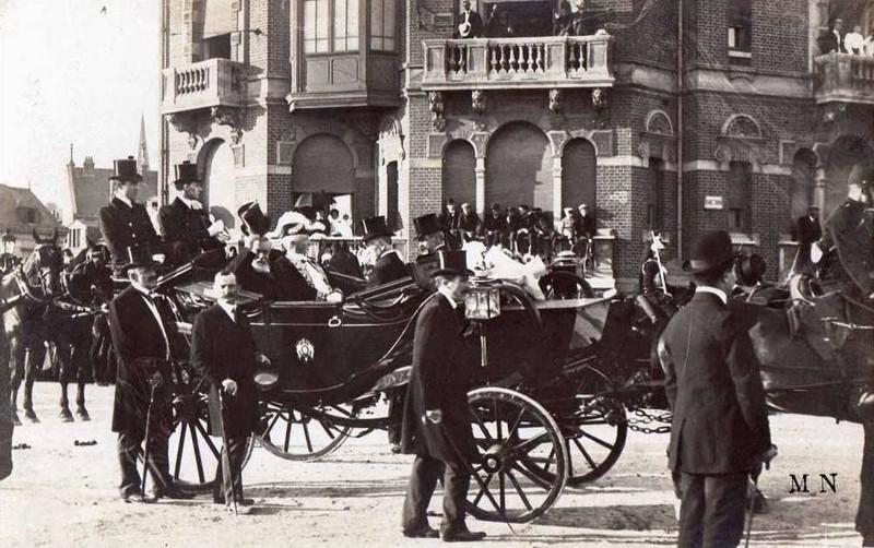 1909 - Visite du président Armand FALLIERES au Havre ... Presid12