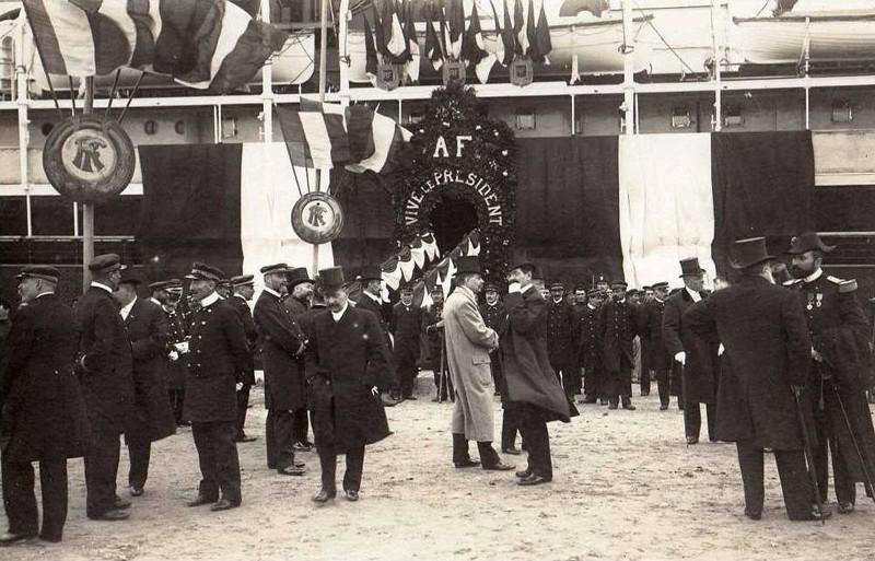 1909 - Visite du président Armand FALLIERES au Havre ... Presid13