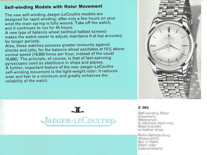 JLC 880 présentation et question de couronne.... E38510