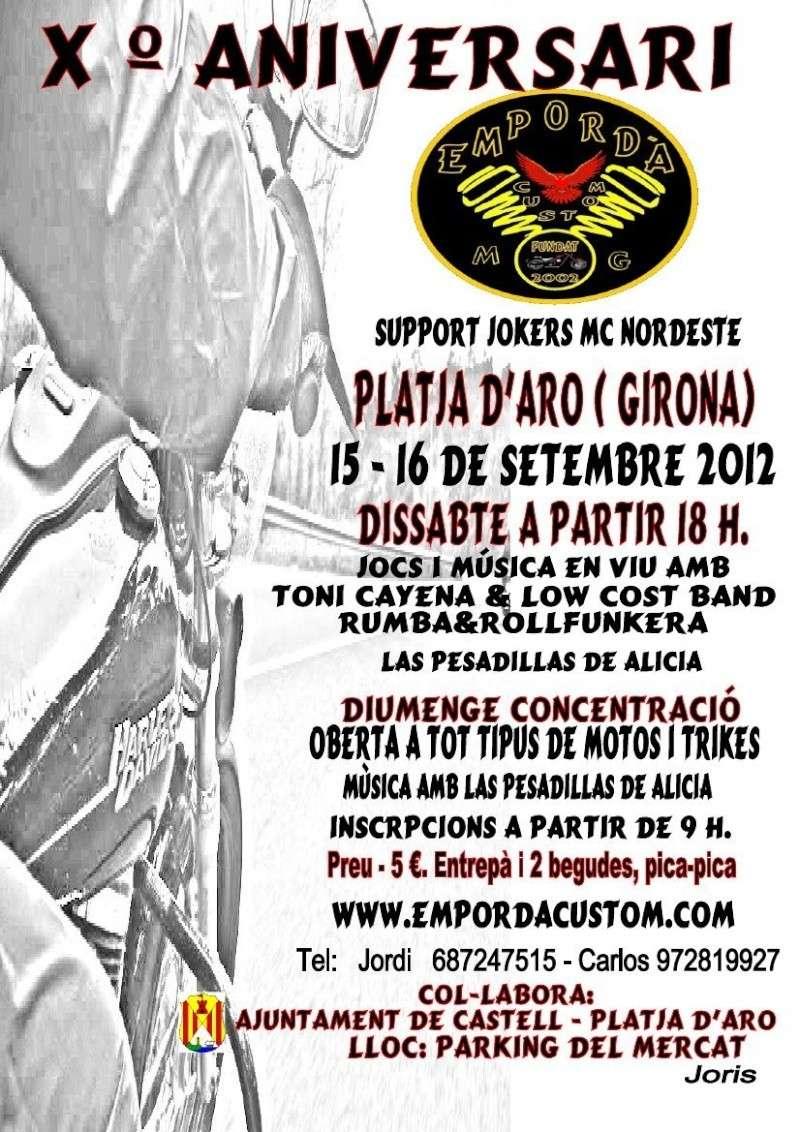 X Aniversario Emporda Custom Grup 15 y 16 de Septiembre . Platja d'Aro. 10261_10