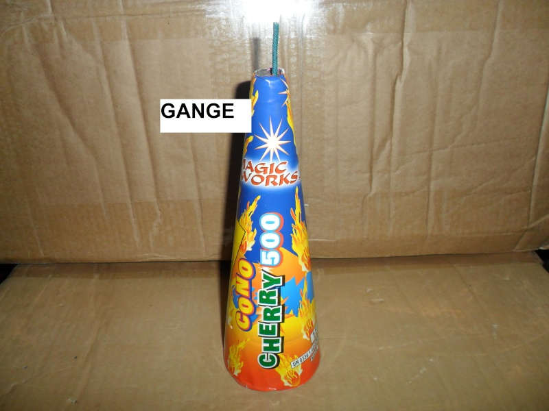 CONO CHERRY 500 - Magic Fireworks 01413