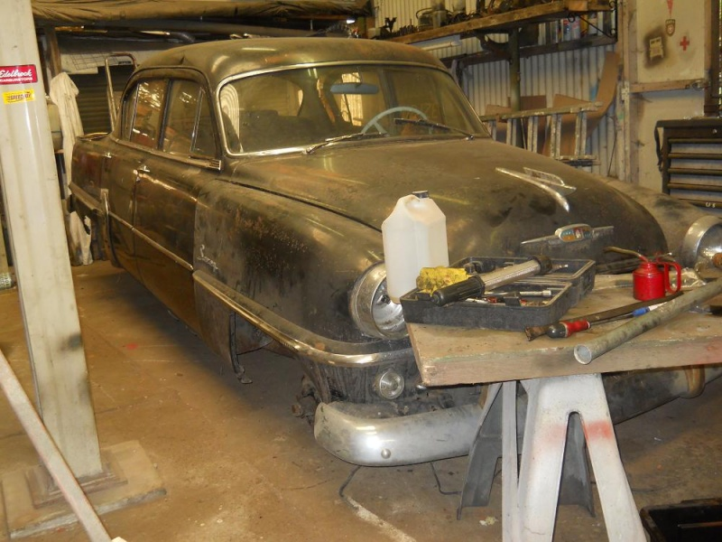 Plymouth '54 La LIMACE ECRASEE by BARE METAL GARAGE Plymou10