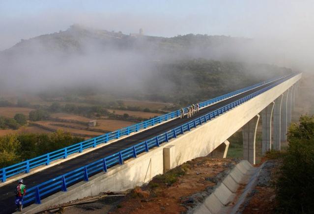 VII PEDALADA DEL SEGRE - PONTS Viaduc10
