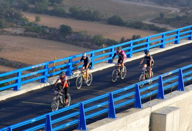 VII PEDALADA DEL SEGRE - PONTS Viaduc12