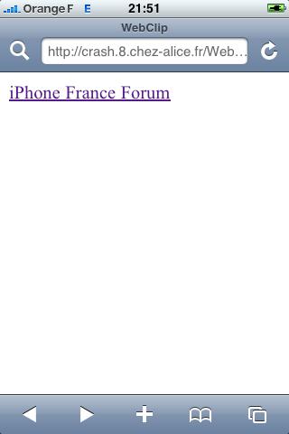 [TUTO] Ajouter un WebClip personnalisé (Raccourci Web sur l'écran d'accueil) Img_0011