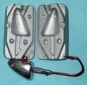 Moules à plombs F166910