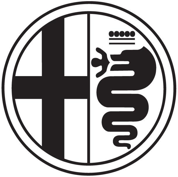 autocollant logo alfa Alfa_r12