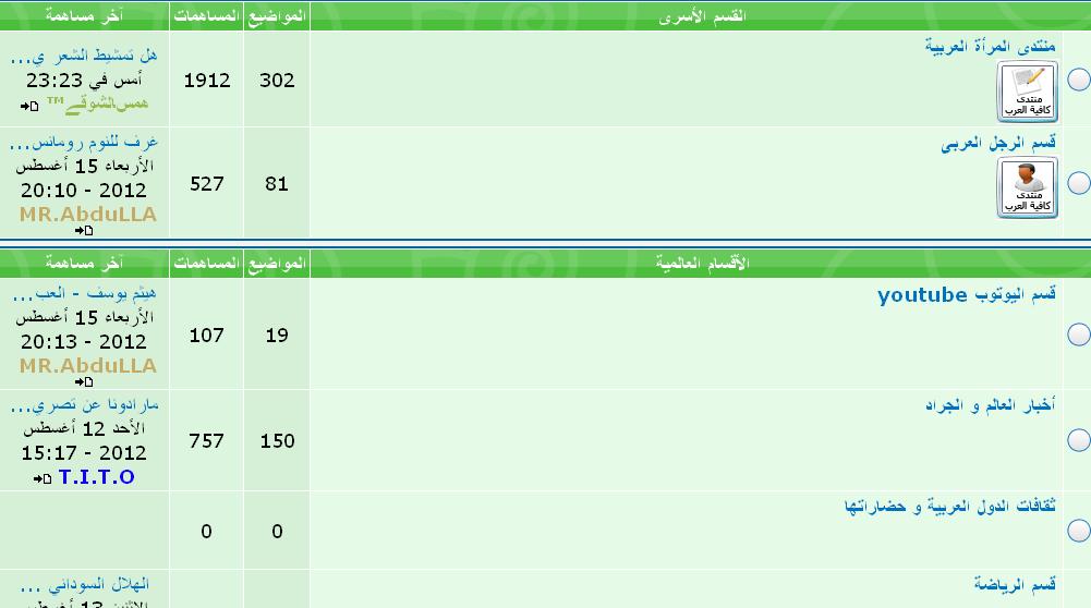 كافية العرب اكبر منتدى عام فى تاريخ احلى منتدى  711