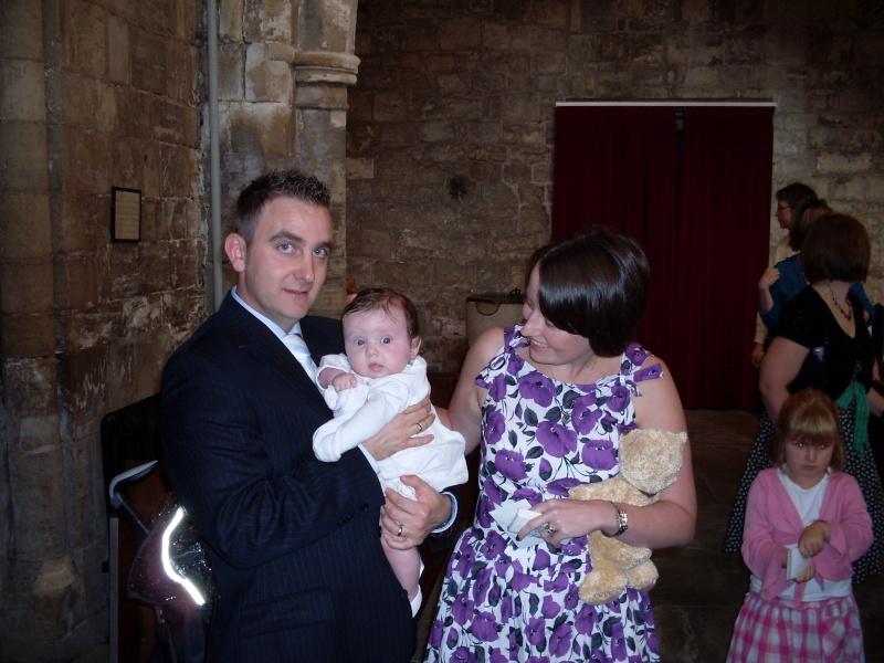 Tilly's christening day 08413