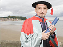 Honary Doctorate at Scarborough University Kingsl10