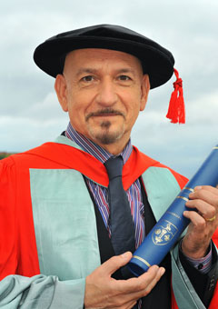 Honary Doctorate at Scarborough University Sir_be10