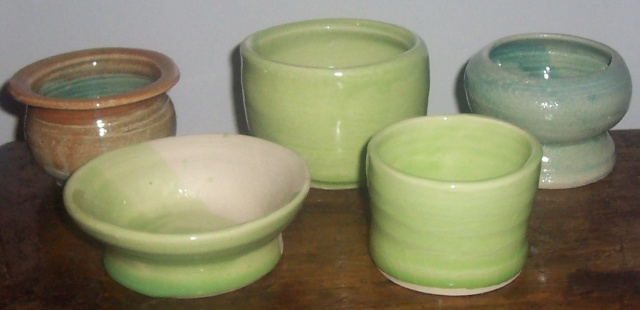 First fired pieces 00111