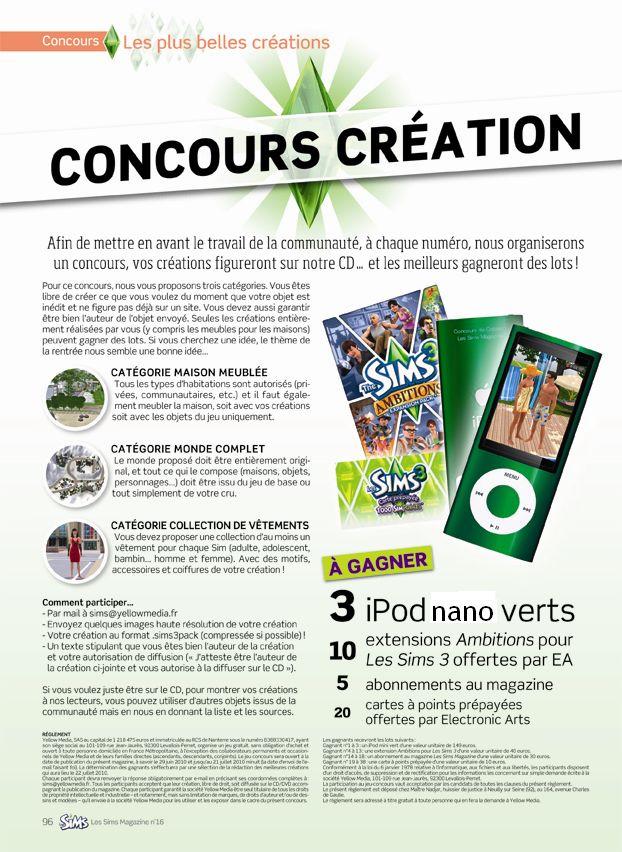 Le Magazine officiel [Arrêté] - Page 6 Sims-n11