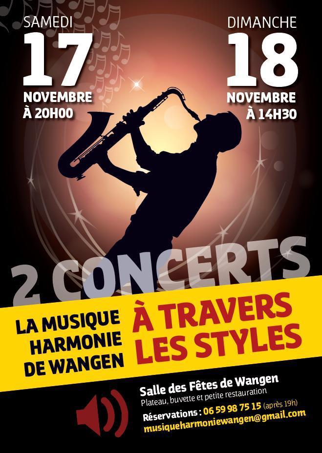 Concerts d'automne de la Musique Harmonie de Wangen les 17 et 18 novembre 2012 55620910