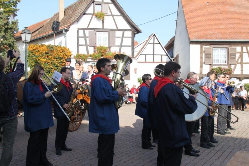 La Musique Harmonie de Wangen à la fête des vendanges de Marlenheim le 21 octobre 2012 Fate_d21