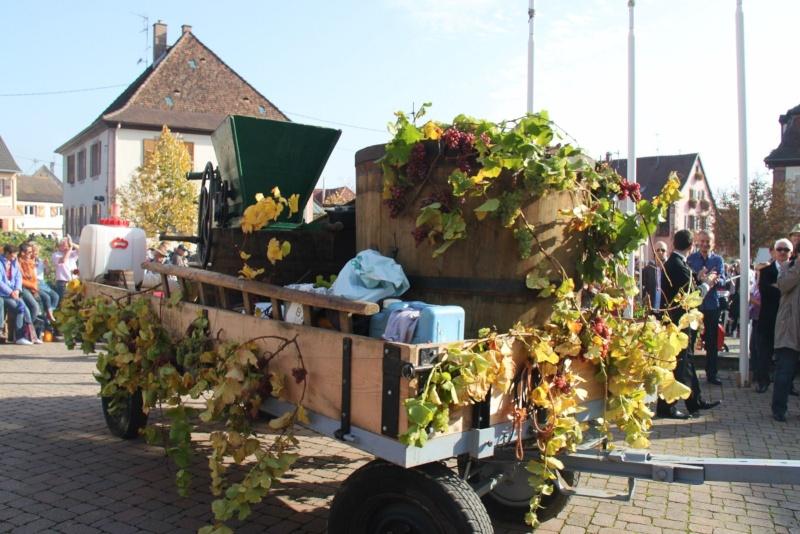La Musique Harmonie de Wangen à la fête des vendanges de Marlenheim le 21 octobre 2012 Fate_d27
