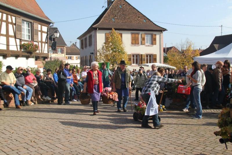 La Musique Harmonie de Wangen à la fête des vendanges de Marlenheim le 21 octobre 2012 Fate_d28