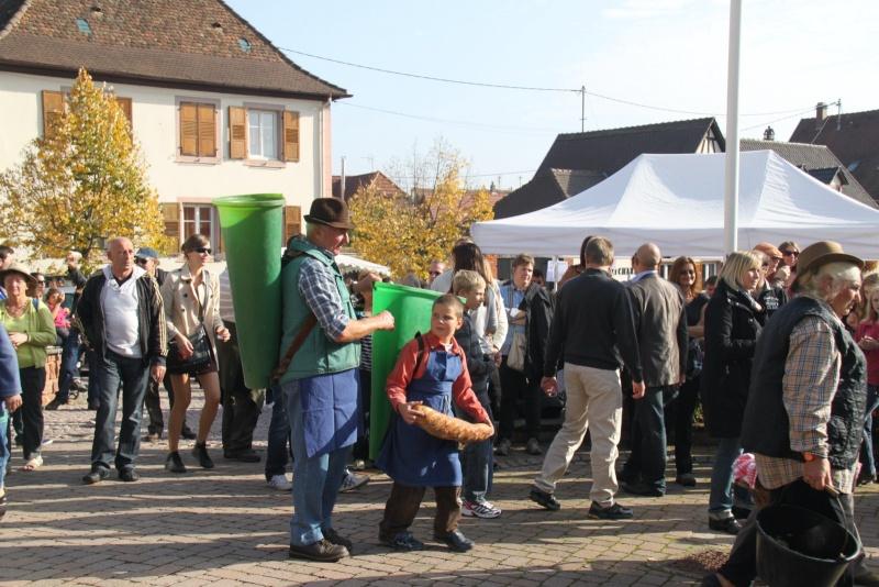 La Musique Harmonie de Wangen à la fête des vendanges de Marlenheim le 21 octobre 2012 Fate_d30