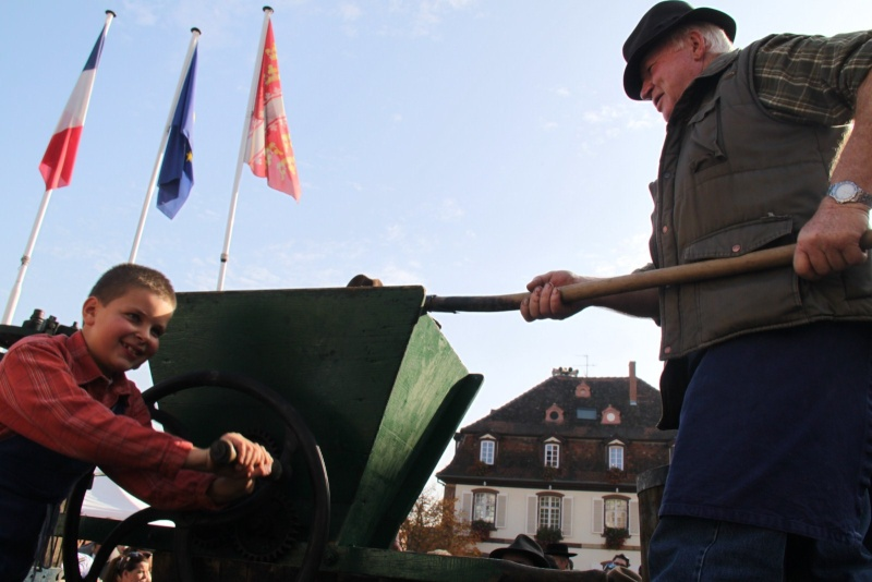 La Musique Harmonie de Wangen à la fête des vendanges de Marlenheim le 21 octobre 2012 Fate_d48