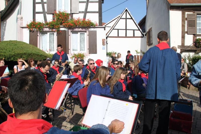 La Musique Harmonie de Wangen à la fête des vendanges de Marlenheim le 21 octobre 2012 Fate_d52