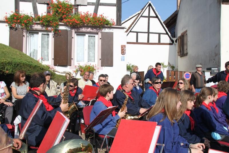 La Musique Harmonie de Wangen à la fête des vendanges de Marlenheim le 21 octobre 2012 Fate_d53