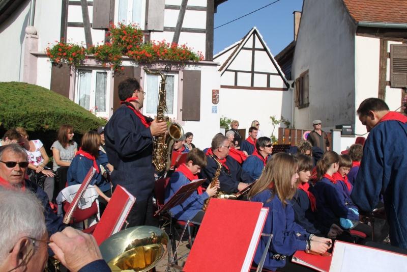 La Musique Harmonie de Wangen à la fête des vendanges de Marlenheim le 21 octobre 2012 Fate_d54