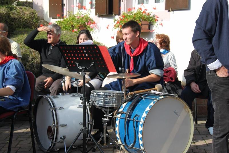 La Musique Harmonie de Wangen à la fête des vendanges de Marlenheim le 21 octobre 2012 Fate_d57